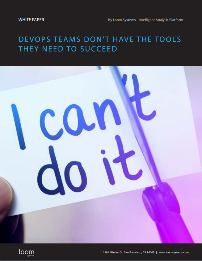 DevOps Teams Don't Have The Tools They Need to Succeed