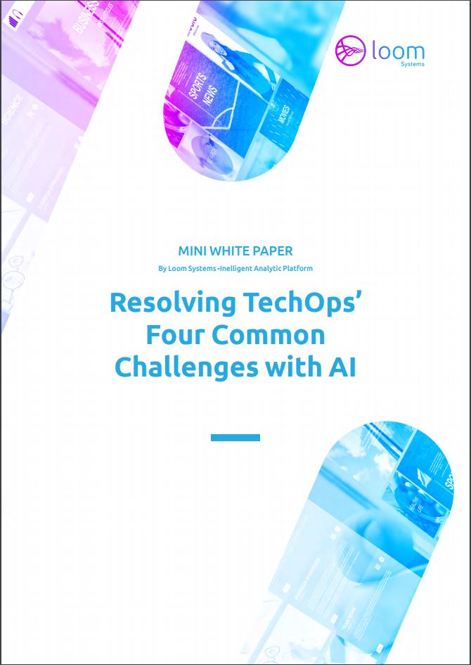 Resolving TechOps' 4 Common Challenges with AI