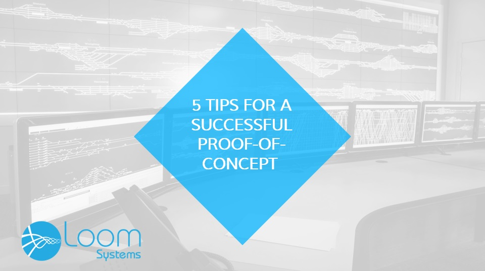 5 TIPS FOR A SUCCESSFUL  PROOF-OF-CONCEPT (PoC)