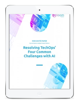 resolving TechOps  challenges with ai
