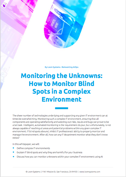 Monitoring the unknowns