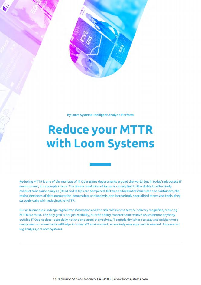 reduce mttr with ai