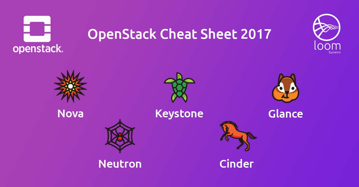 OpenStack Cheat Sheet 2017