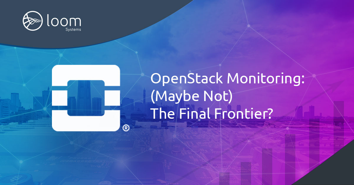 OpenStack Monitoring: (Maybe Not) The Final Frontier?