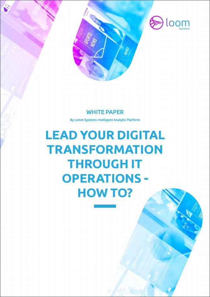 Lead Your Digital Transformation Through IT Operations - How to?