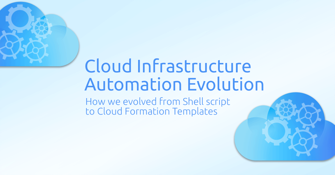 Cloud Infrastructure Automation Evolution: From Shell script to Cloud Formation Templates